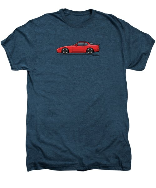 India Red 1986 P 944 951 Turbo Men's Premium T-Shirt