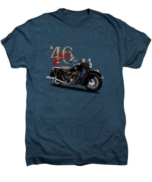 Indian Chief 1946 Men's Premium T-Shirt by Mark Rogan