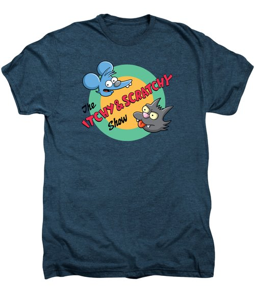 Itchy And Scratchy Men's Premium T-Shirt by Ian  King