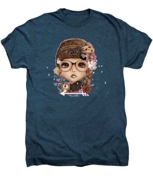 Java Joanna Men's Premium T-Shirt by Sheena Pike