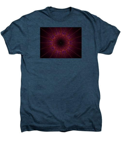 The Violet Blessings Of The Crown Chakra Men's Premium T-Shirt