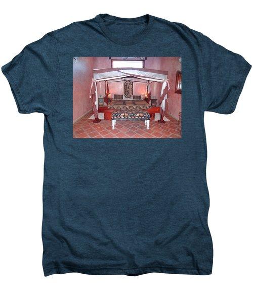 Kenyan African Traditional Double Bed Men's Premium T-Shirt