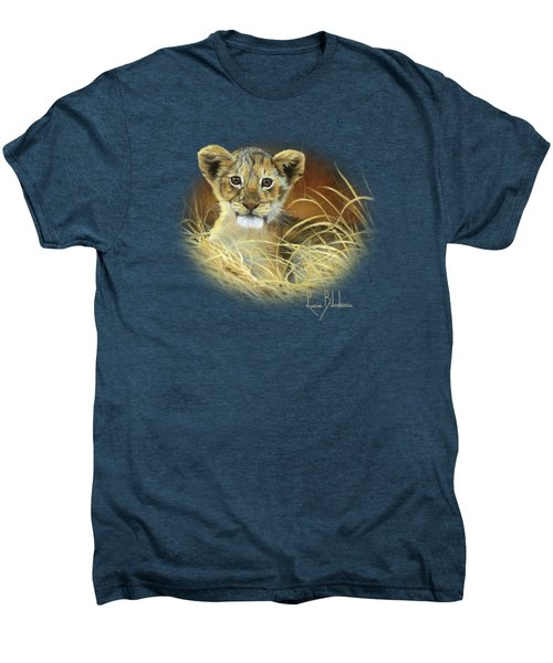 King To Be Men's Premium T-Shirt by Lucie Bilodeau