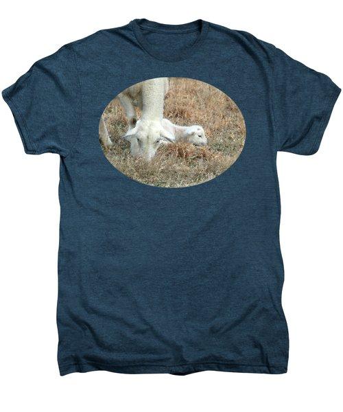 L Is For Lamb Men's Premium T-Shirt by Anita Faye