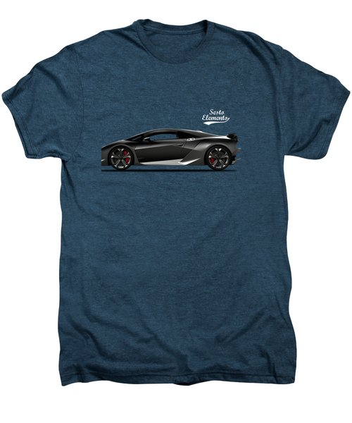 Lamborghini Sesto Elemento Men's Premium T-Shirt by Mark Rogan