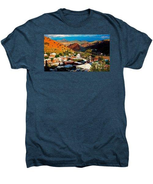 Lavender Pit In Historic Bisbee Arizona  Men's Premium T-Shirt