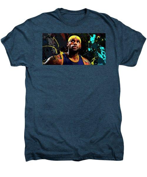 Lebron Men's Premium T-Shirt by Richard Day