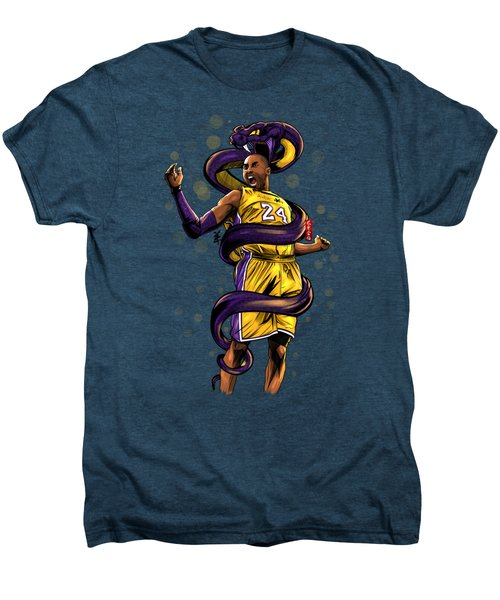 Legend Black Mamba Men's Premium T-Shirt by Akyanyme