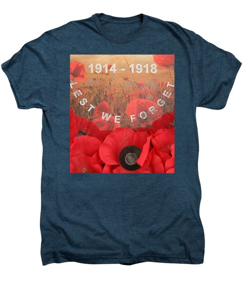 Lest We Forget - 1914-1918 Men's Premium T-Shirt
