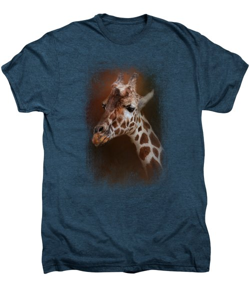 Long Neck Men's Premium T-Shirt by Jai Johnson