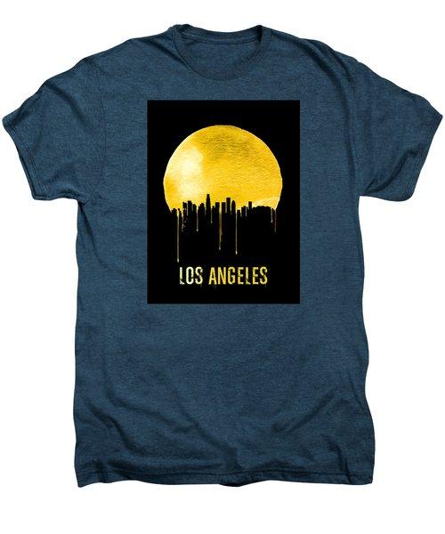 Los Angeles Skyline Yellow Men's Premium T-Shirt
