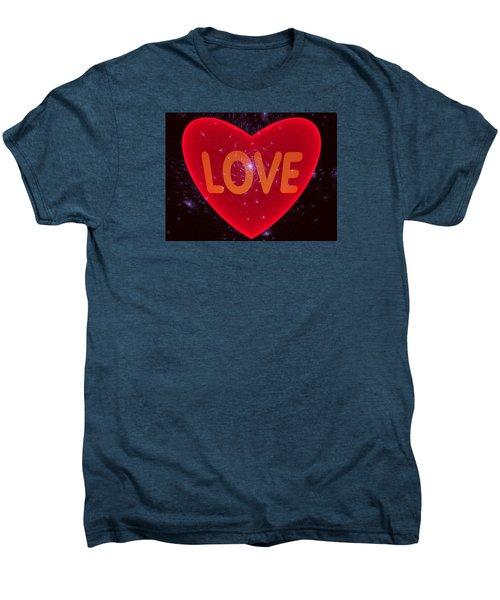 Loving Heart Men's Premium T-Shirt