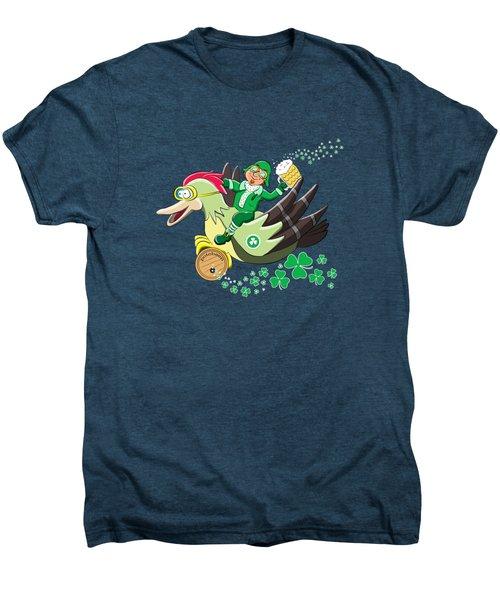 Lucky Leprechaun Men's Premium T-Shirt