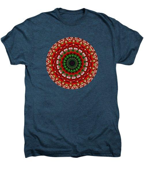 Mandala Tulipa By Kaye Menner Men's Premium T-Shirt by Kaye Menner