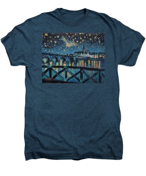 Mestreechter Staarenach Staryy Night Maastricht Men's Premium T-Shirt by Nop Briex