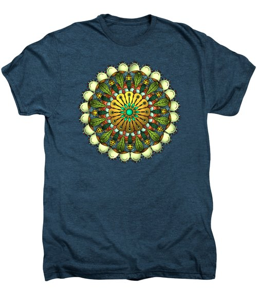 Metallic Mandala Men's Premium T-Shirt
