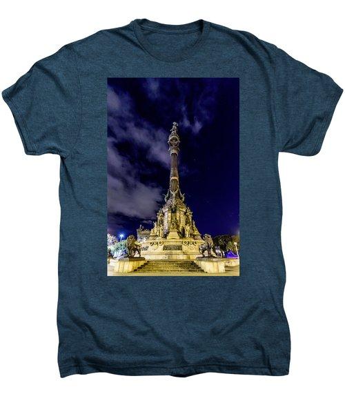 Mirador De Colom Men's Premium T-Shirt by Randy Scherkenbach