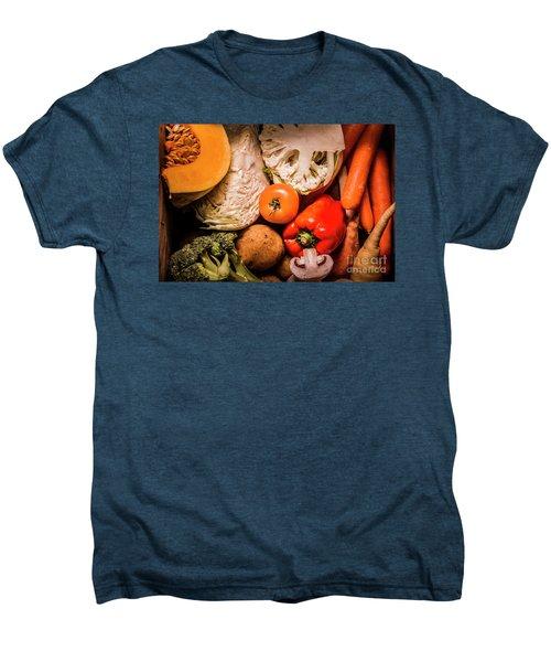 Mixed Vegetable Produce Pack Men's Premium T-Shirt