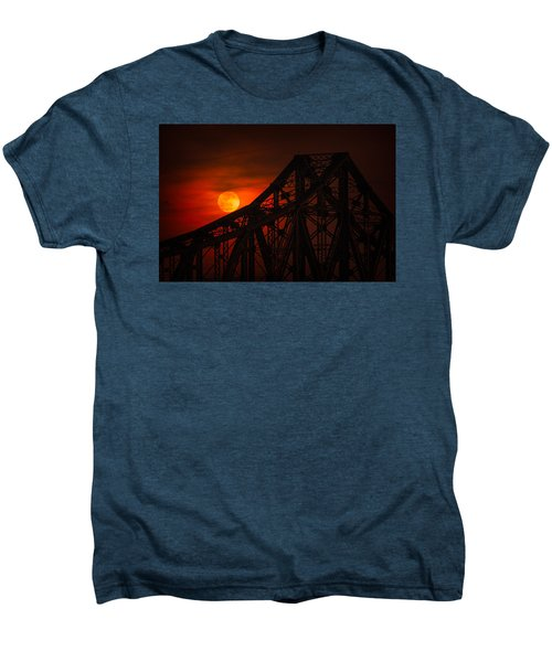 Moon Over The Bridge Men's Premium T-Shirt