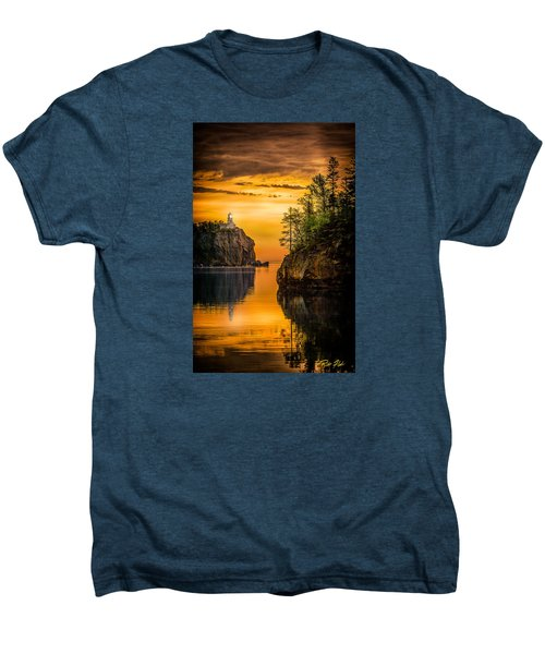 Men's Premium T-Shirt featuring the photograph Morning Glow Against The Light by Rikk Flohr