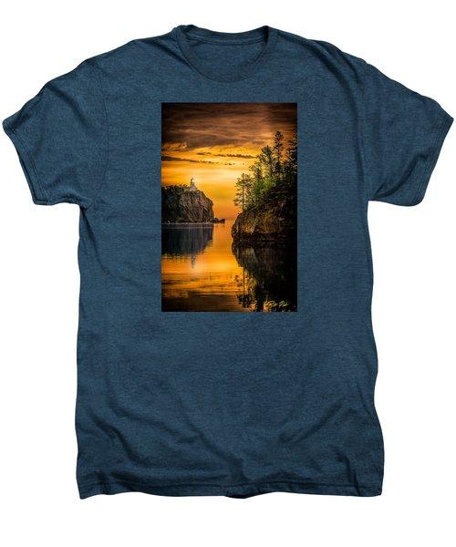 Morning Glow Against The Light Men's Premium T-Shirt