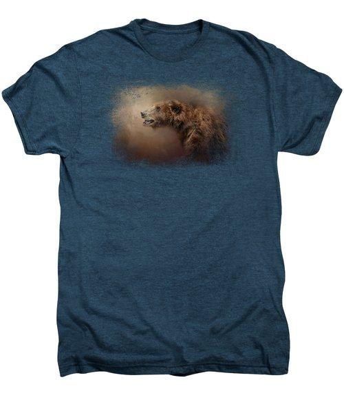 Morning Grizzly Men's Premium T-Shirt