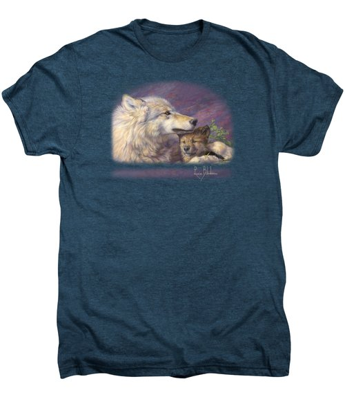 Mother's Love Men's Premium T-Shirt by Lucie Bilodeau