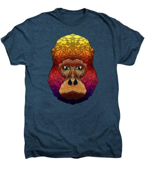 Mountain Gorilla Men's Premium T-Shirt by Dusty Conley