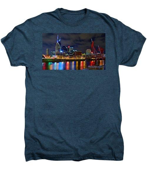 Nashville After Dark Men's Premium T-Shirt