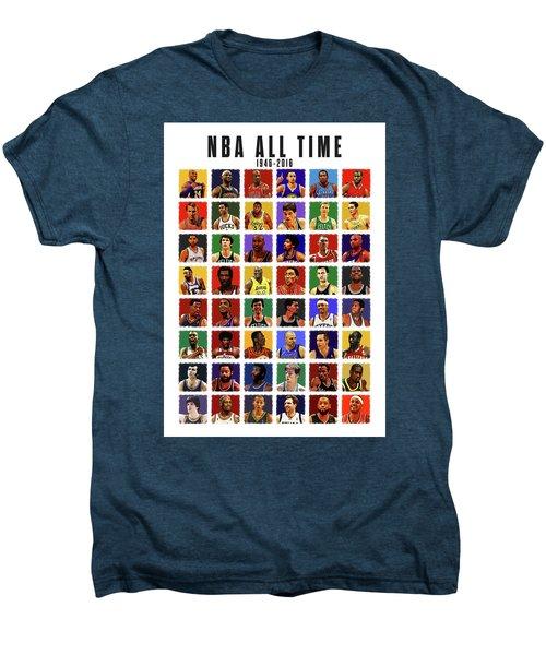 Nba All Times Men's Premium T-Shirt