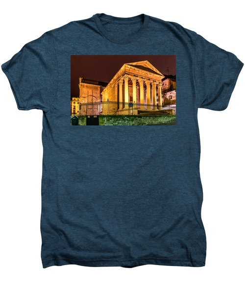Night At The Roman Temple Men's Premium T-Shirt