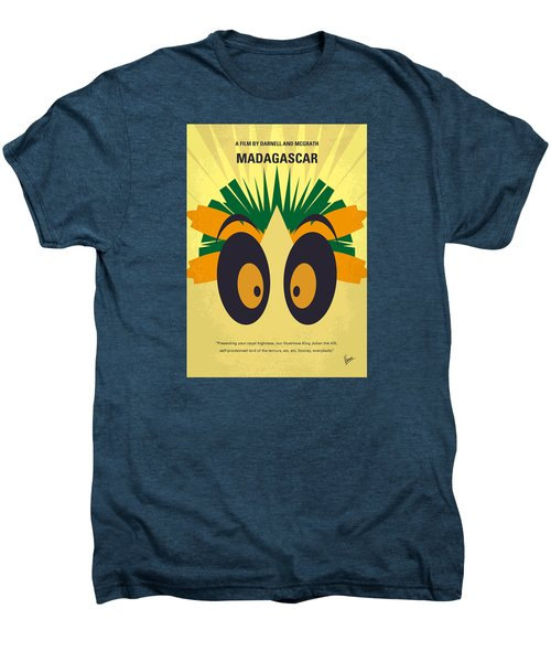 No589 My Madagascar Minimal Movie Poster Men's Premium T-Shirt