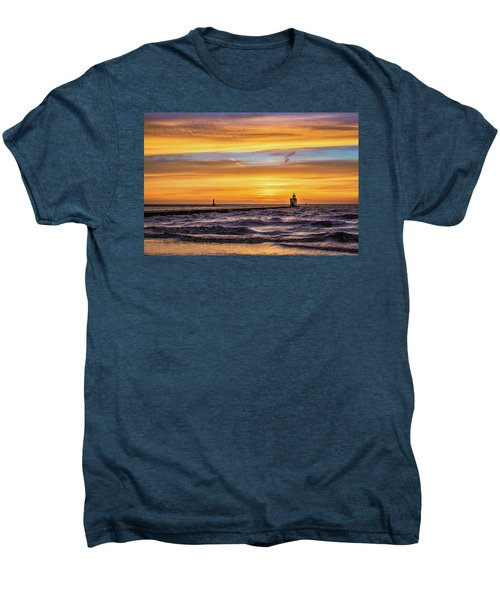 Men's Premium T-Shirt featuring the photograph October Surprise by Bill Pevlor