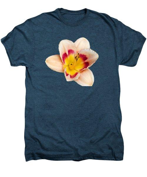 Orange Yellow Lilies Men's Premium T-Shirt