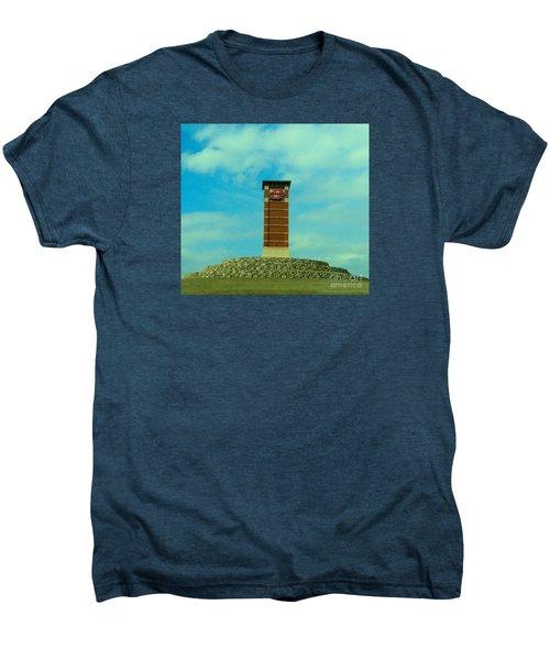Oklahoma State University Gateway To Osu Tulsa Campus Men's Premium T-Shirt by Janette Boyd