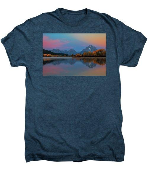 Oxbows Reflections Men's Premium T-Shirt by Edgars Erglis