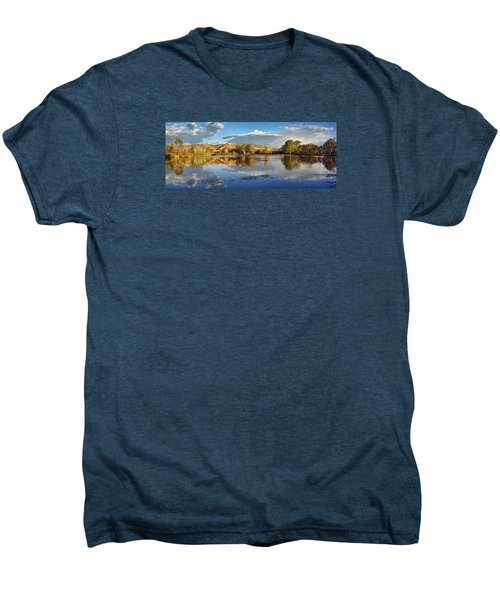 Panoramic Reflections Men's Premium T-Shirt