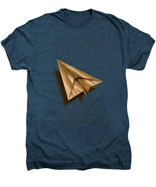 Paper Airplanes Of Wood 1 Men's Premium T-Shirt by YoPedro