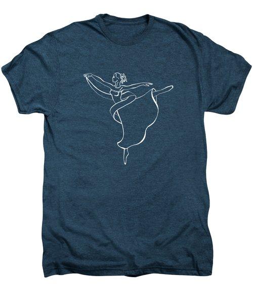 Passionate Lines Dance Men's Premium T-Shirt