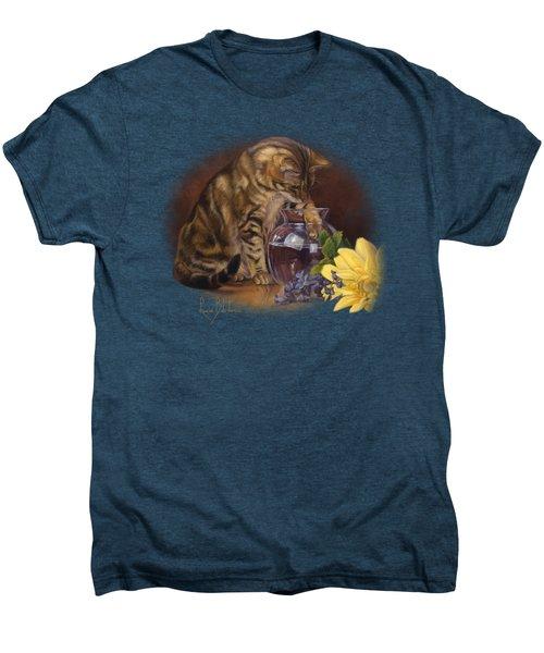 Paw In The Vase Men's Premium T-Shirt
