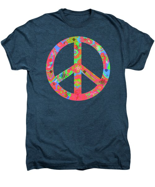 Men's Premium T-Shirt featuring the digital art Peace by Linda Lees