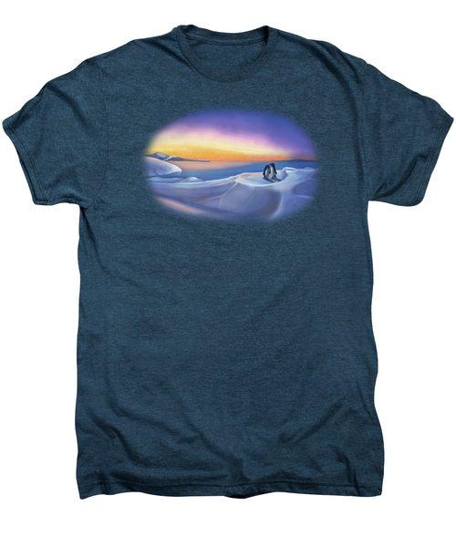 Penguins At Daybreak Men's Premium T-Shirt