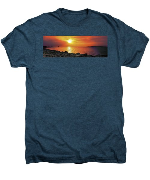 Petoskey Sunset Men's Premium T-Shirt