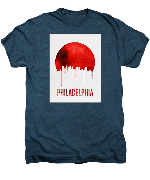 Philadelphia Skyline Redskyline Red Men's Premium T-Shirt