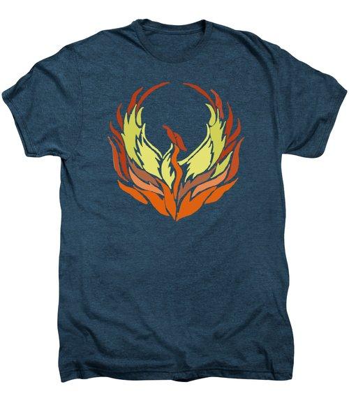 Phoenix Bird Men's Premium T-Shirt
