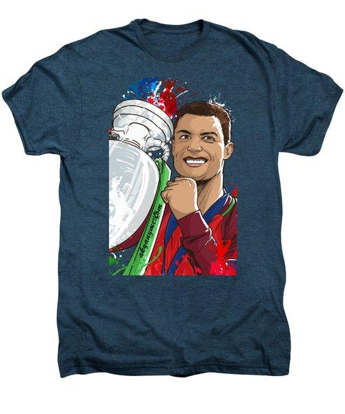 Portugal Campeoes Da Europa Men's Premium T-Shirt by Akyanyme