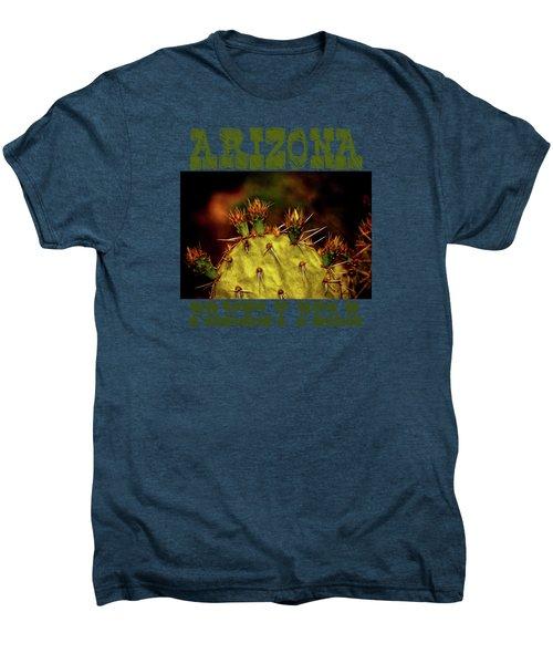 Prickly Pear Spring Men's Premium T-Shirt by Roger Passman