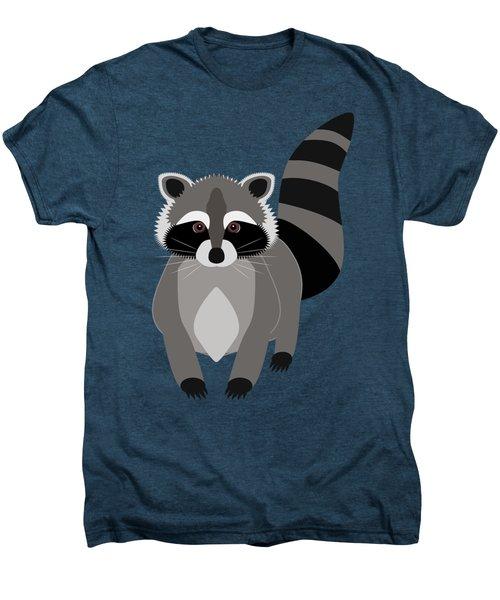 Raccoon Mischief Men's Premium T-Shirt