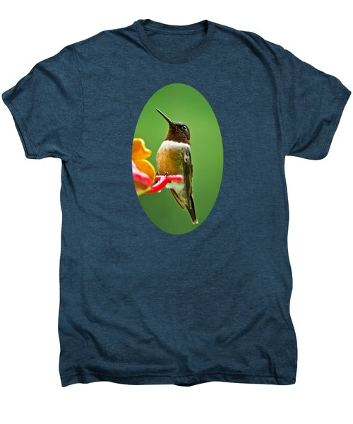 Rainy Day Hummingbird Men's Premium T-Shirt
