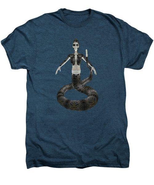 Rattlesnake Alien World Men's Premium T-Shirt by Dora Hembree
